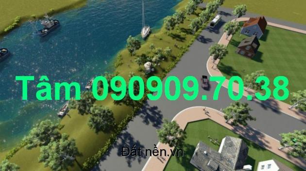 bán đất 3 mt sông dự án garden riverside villas giá 16tr gần đại phúc