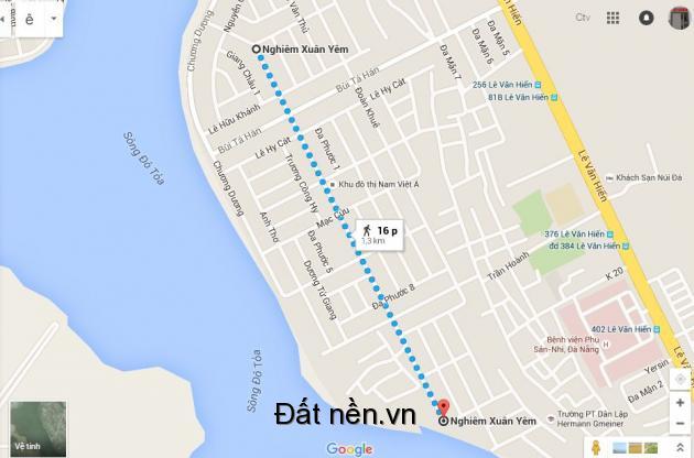Bán lô đất đường Nghiêm Xuân Nghiêm Khu Nam Việt Á giai đoạn 2