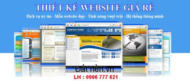 Thiết Kế Web Giá Rẻ, Thiết Kế Web Chuẩn Seo, Hỗ Trợ Seo Lên Top Google.