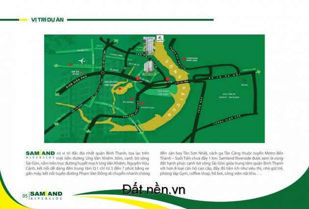 Căn hộ cao cấp view sông Sài Gòn chỉ từ 1,5 tỷ tại trung tâm quận Bình Thạnh