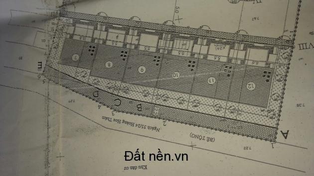Bán đất phân lô đường Hoàng Hoa Thám giá 115tr/m2 liên hệ : 0911526915