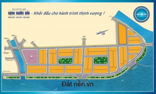 Bán đất dự án khu đô thị mới vịnh Xuân Đài, thị xã Sông Cầu, tỉnh Phú Yên
