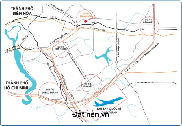 Đất nền giá rẻ nhất Thị Trấn Trảng Bom Đồng Nai 3,2tr/m2 góp dài hạn 0% lãi suất