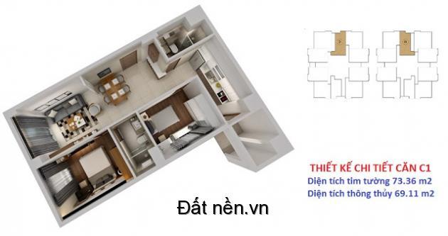 Căn hộ Thành Thái trung tâm Q.10 với 4 trung tâm thương mại