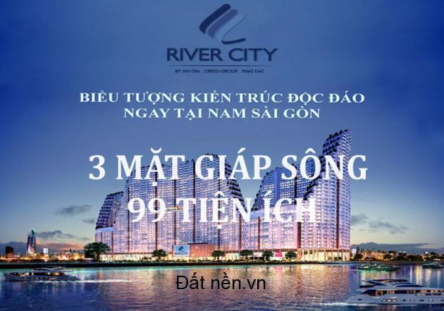 RIVER CITY Q.7 - TUYỆT TÁC THIẾT KẾ- 3 MẶT TIỀN SÔNG- 99 TIỆN ÍCH 1.39 TỶ/2PN. 0937736623
