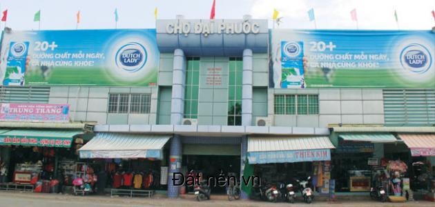 390 triệu/nền đất gần chợ Đại Phước, cách phà Cát Lái 3km