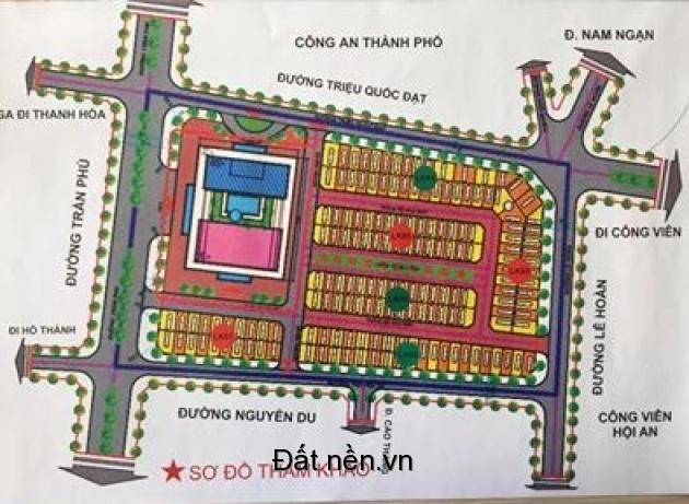 Bán Suất Ngoại Giao MG3 ô 9 Shophouse Vincom Thanh Hóa ( miễn môi giới )