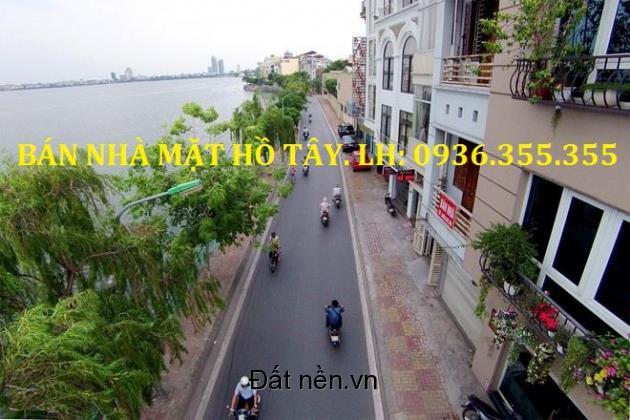 Bán Nhà Mặt Phố Nguyễn Đình Thi, Mặt Hồ Tây, 130m2, 7 Tầng, Giá Rẻ