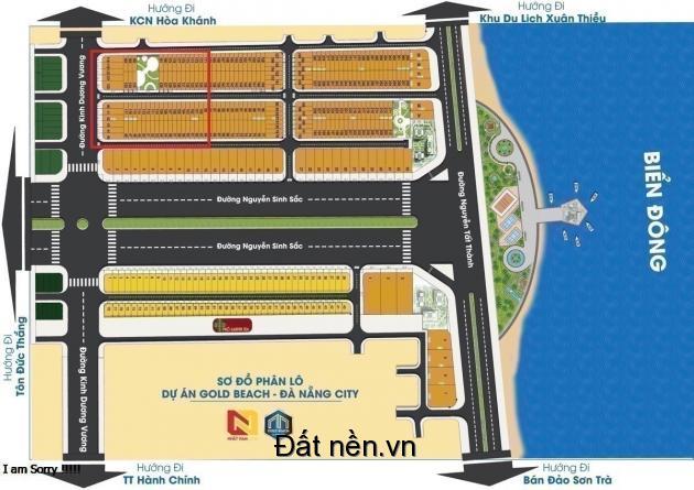 Gold Beach dự án đất mặt biển trung tâm quận Liên Chiểu