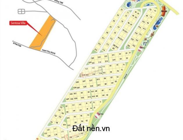 Bán đất nền biệt thự tại dự án Sentosa Villa Mũi Né giá chỉ từ 5 triệu/ m2, đã có sổ đỏ