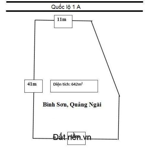 BÁN GẤP 2 lô đất tại Bình Sơn Quảng Ngãi