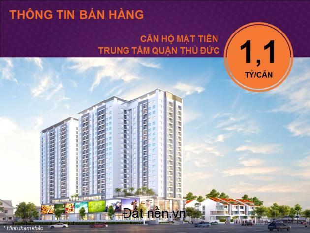 Căn hộ chung cư Moonlight 2-3PN giá rẻ Đặng Văn Bi, Thủ Đức TP. HCM - LH 0932059348