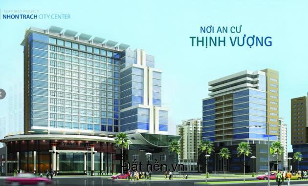 Căn hộ Nhơn Trạch City Center giá chỉ 399 triệu/căn.