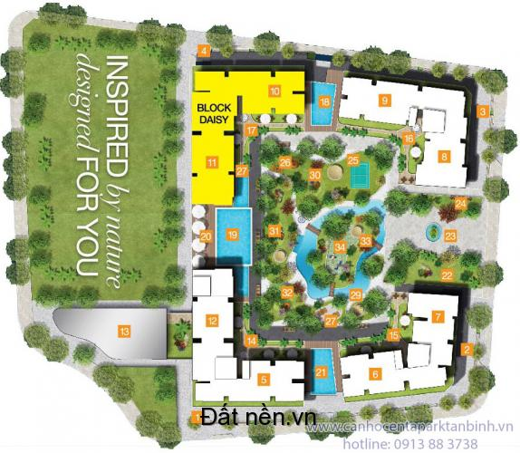 Bán Căn hộ Centa Park 1 pn 55m2 giá 1,2 tỷ
