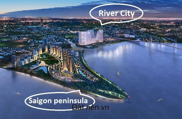River City – Căn hộ liền kề Khu đô thị sinh thái 6 tỷ USD - PDA - 0903623969