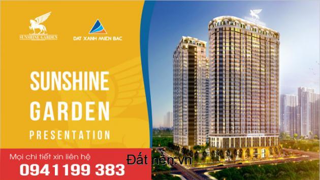 Chung cư cao cấp Q.Hai Bà Trưng, HDBank Bảo Lãnh + HTLS, Sunshine Garden vay 70% LS 0%