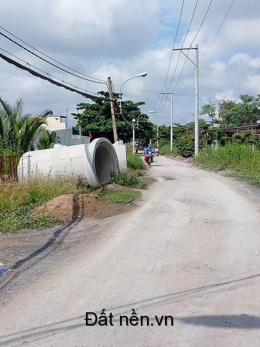 Bán 222m2 đất lô góc 2 mặt tiền đường Nguyễn Văn Thời, Bình Chánh